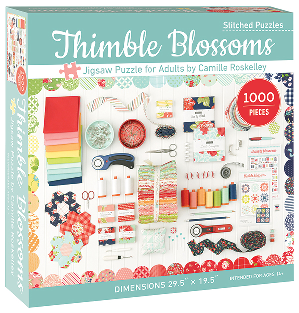 Thimble Blossoms Adult Jigsaw Puzzle - 1000 Pieces