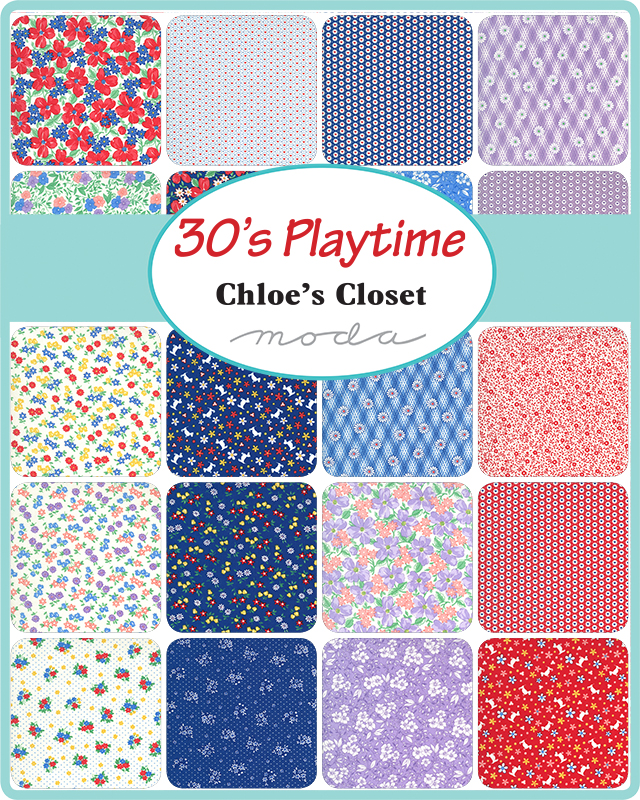 30's Playtime Fabric Collection