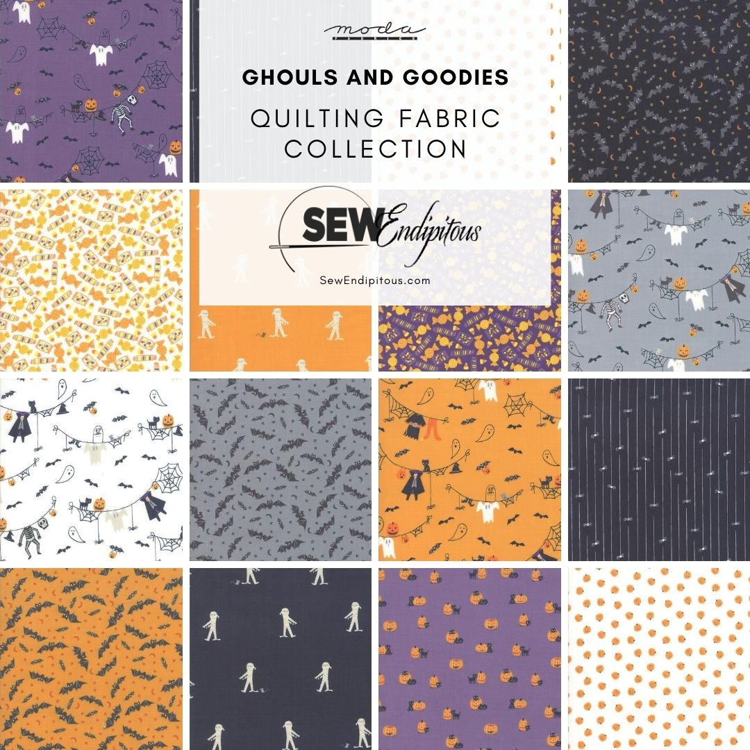 Ghouls and Goodies Fabric Collection