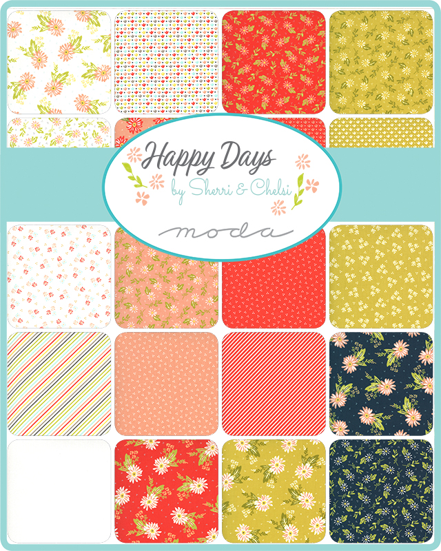 Happy Days Fabric Collection