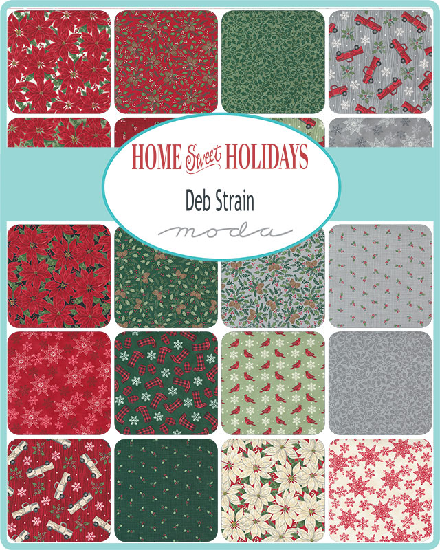 Home Sweet Holidays Fabric Collection