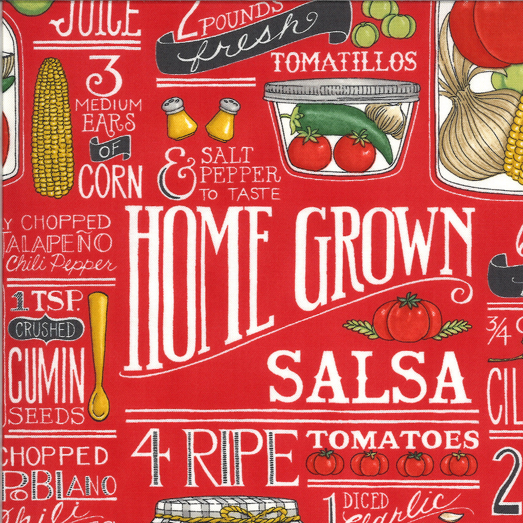Homegrown Salsa Fabric Collection