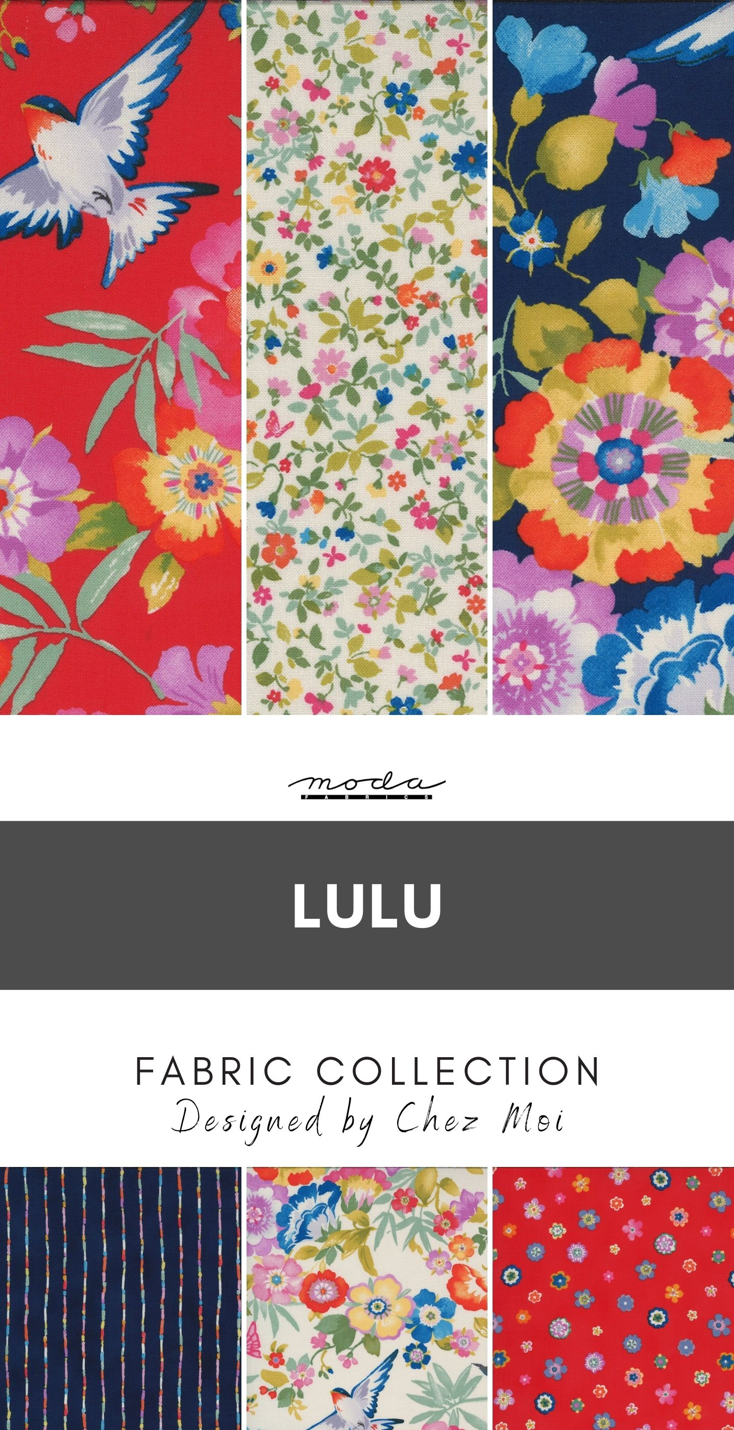 Lulu Fabric Collection