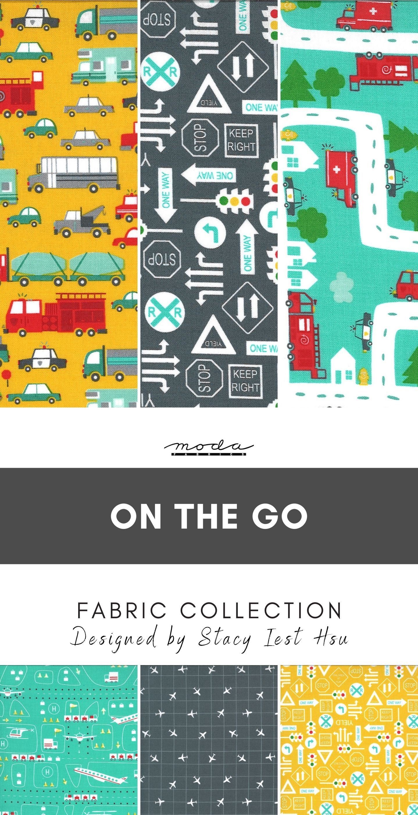 on the go fabric collection