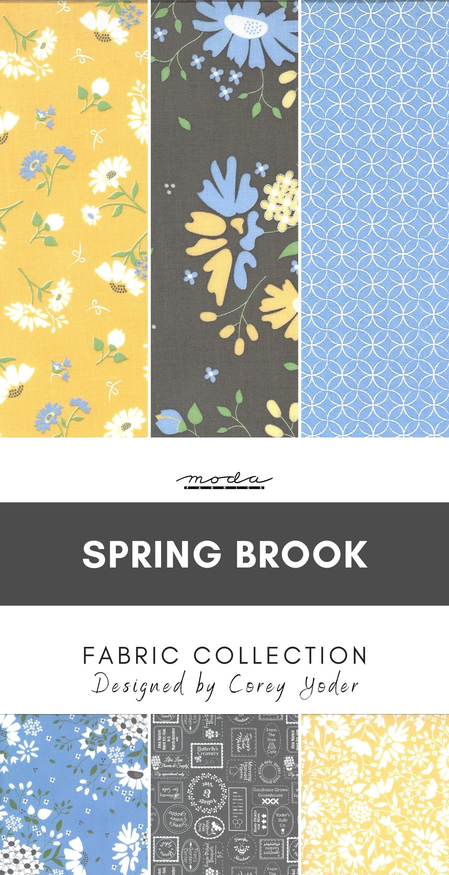 Spring Brook Fabric Collection