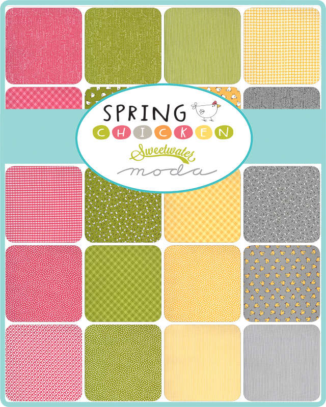 Spring Chicken Fabric Collection