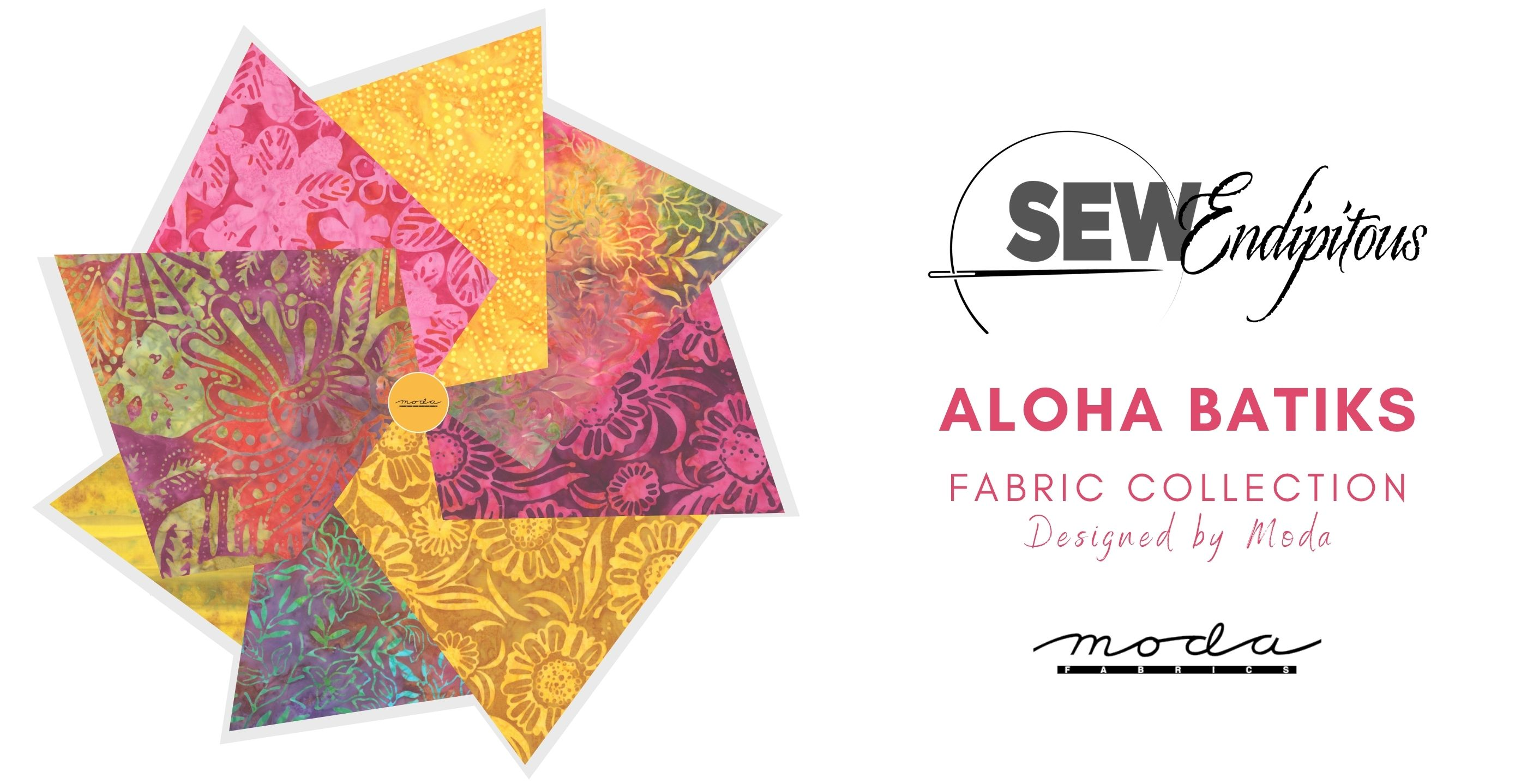 Aloha Batiks by Moda offered by SewEndipitous