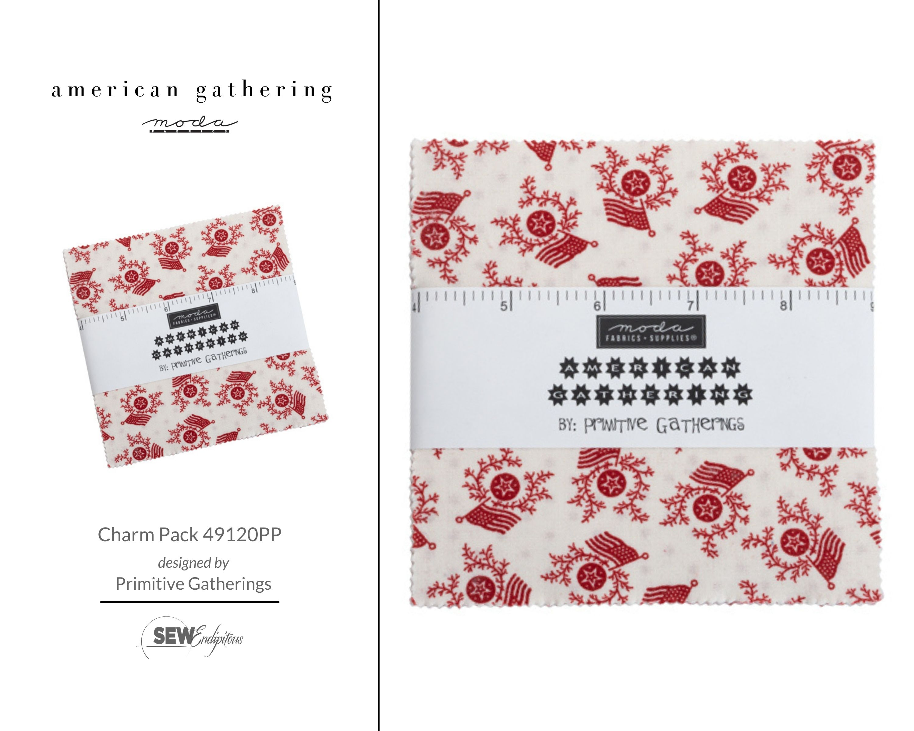 American Gathering - Charm Pack 49120PP