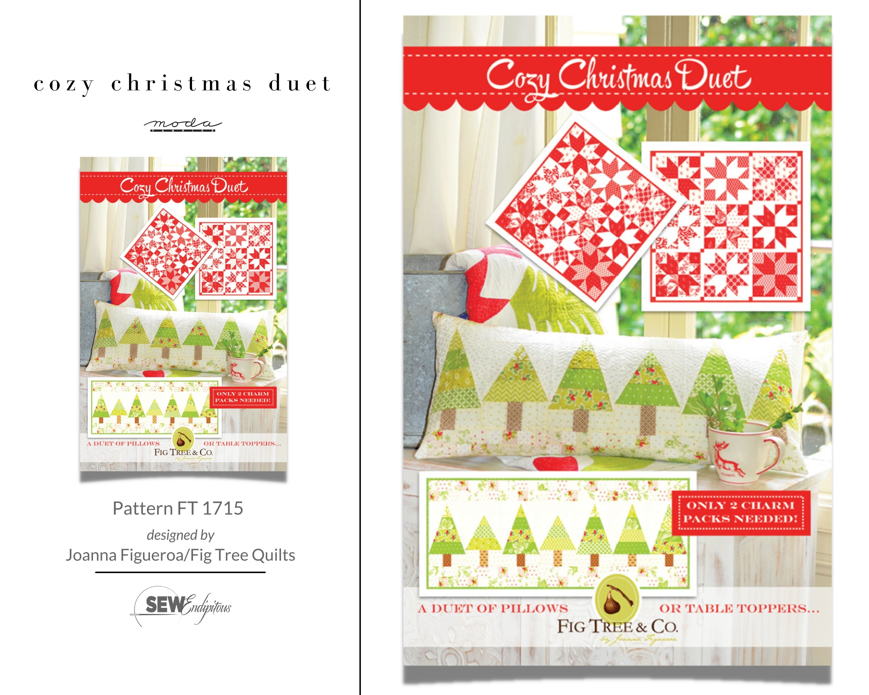Cozy Christmas Duet - Pattern FT 1715
