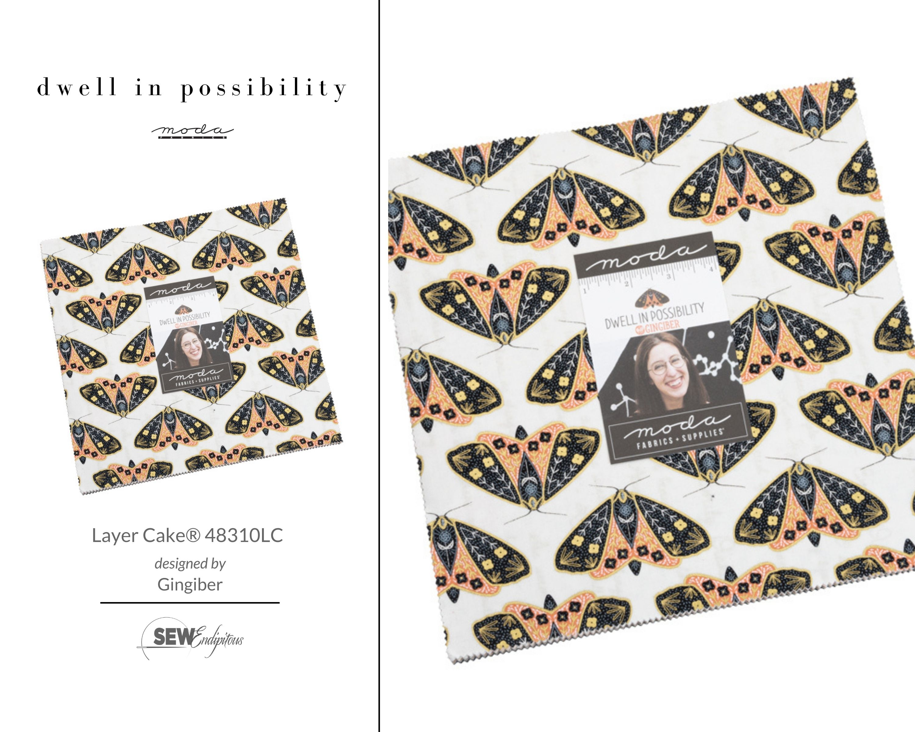 Dwell in Possibility - Layer Cake 48310LC
