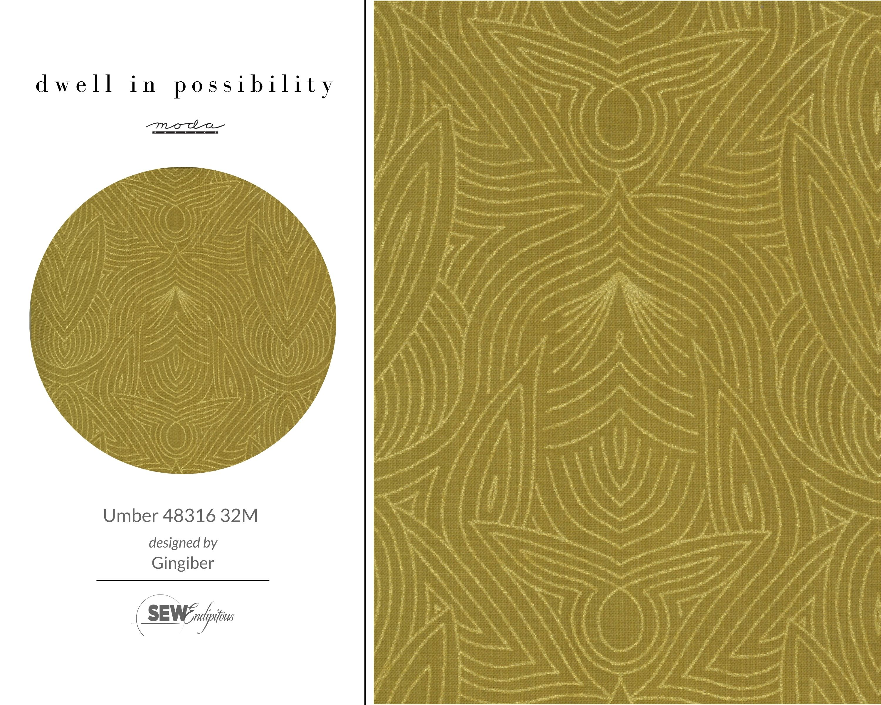 Dwell in Possibility - Umber 48316 32M Metallic