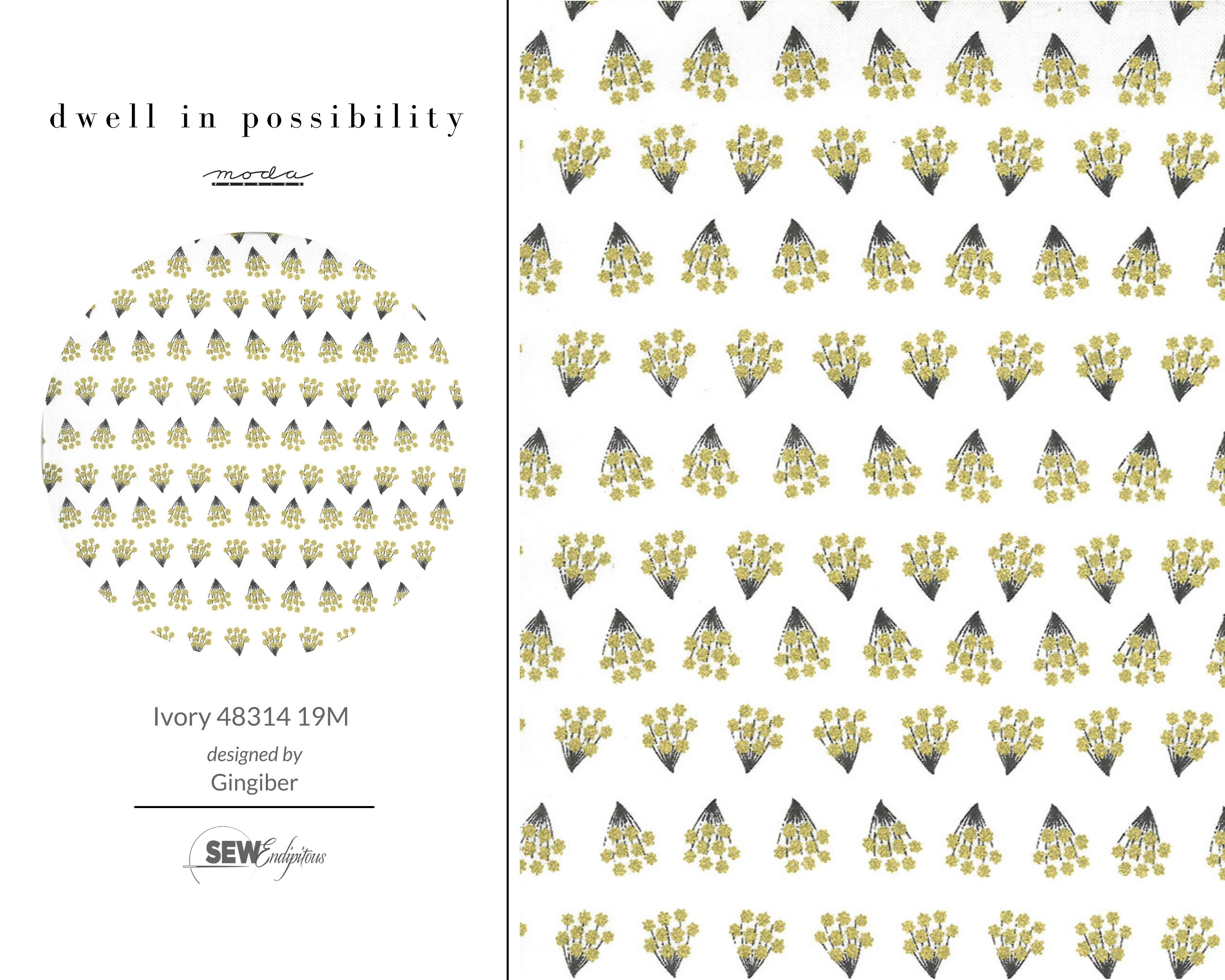 Dwell in Possibility - Ivory 48314 19M Metallic