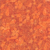 Aloha Batiks - Orange 4356-22