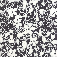 Aloha Batiks - Black and White 4356-44