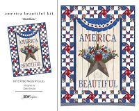 America Beautiful Quilt Kit - KIT19980