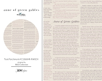 Anne of Green Gables - Text Parchment # C10604R-PARCH