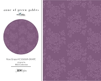 Anne of Green Gables - Rose Grape # C10606R-GRAPE