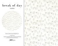 Break Of Day - Ivory Charcoal 43105 21