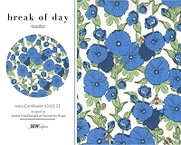 Break Of Day - Ivory Cornflower 43101 21