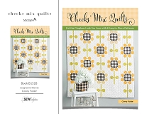 Checks Mix Quilts - Book B1528