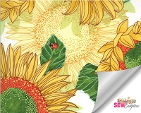 Solana Sunflowers Cream 48680-11