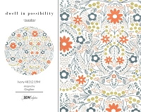 Dwell in Possibility - Ivory 48312 19M Metallic