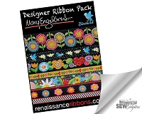 Mary Engelbreit - Blue Bird Designer Ribbon Pack DP-85ME