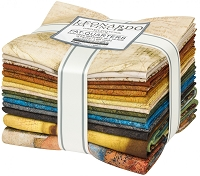 Leonardo Da Vinci - Fat Quarter, 16pcs/bundle FQ-1741-16