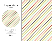 Happy Days - Stripe Multi 37604 11