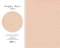 Happy Days - Stripe Peach 37604 17