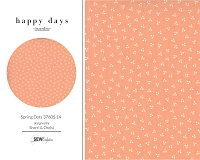 Happy Days - Spring Dots Peach 37605 14