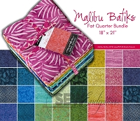 Fat Quarter Bundle - Malibu Batiks - AB 30 skus 4357AB