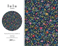 Lulu - Packed Floral Navy 33584 11