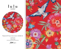 Lulu - Flights Of Fancy Geranium 33580 15