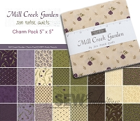 Mill Creek Garden - Charm Pack 2240PP Moda Precuts