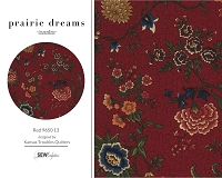 Prairie Dreams - Red 9650 13