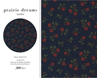 Prairie Dreams - Navy 9652 14