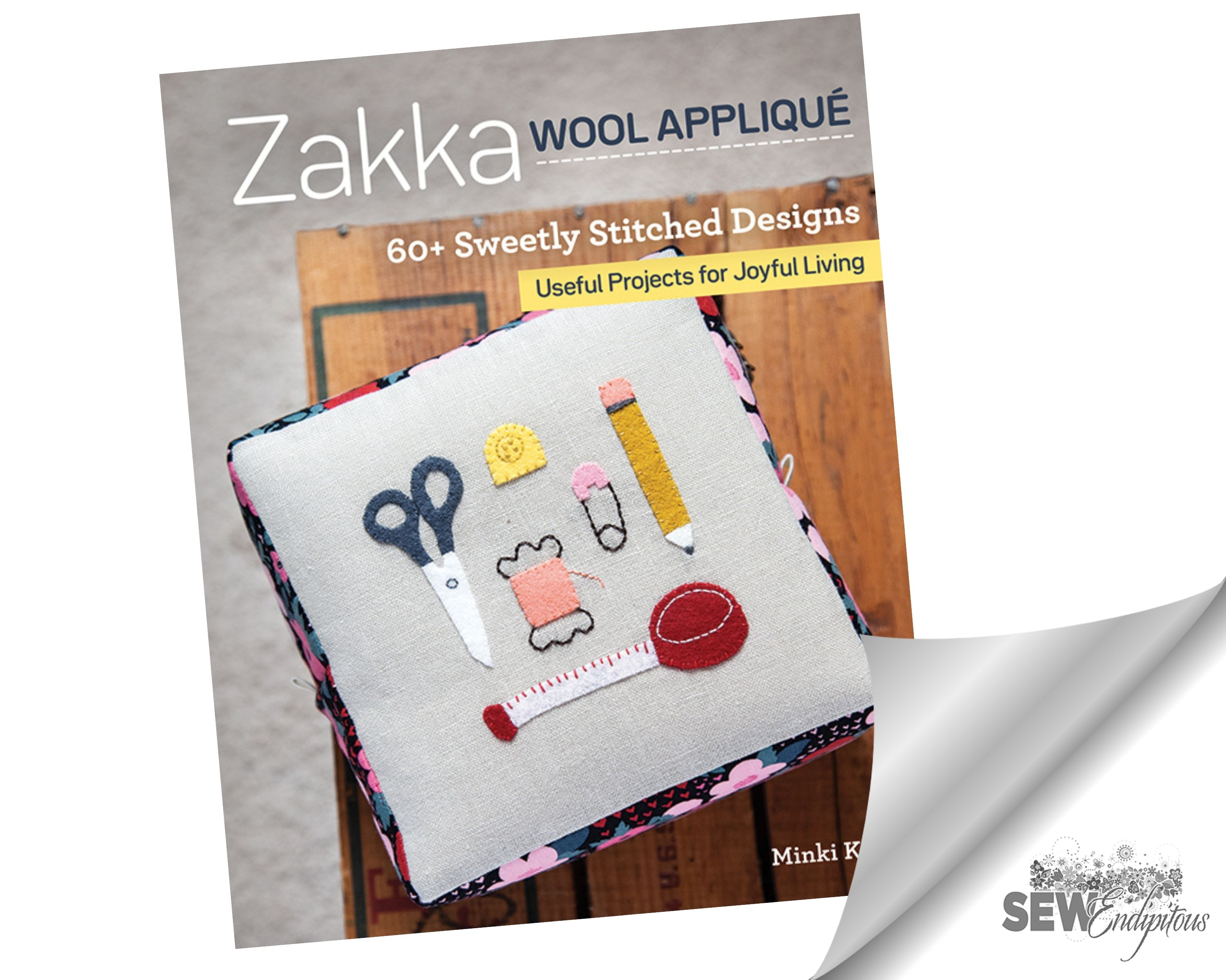 Zakka Wool Applique Book - 11386 C & T Publishing